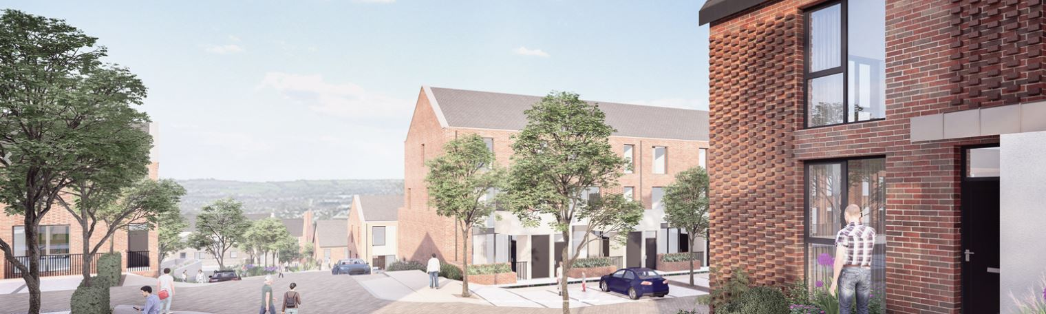 Plans granted by An Bórd Pleanála for the former St Kevin's Hospital Site, Cork.