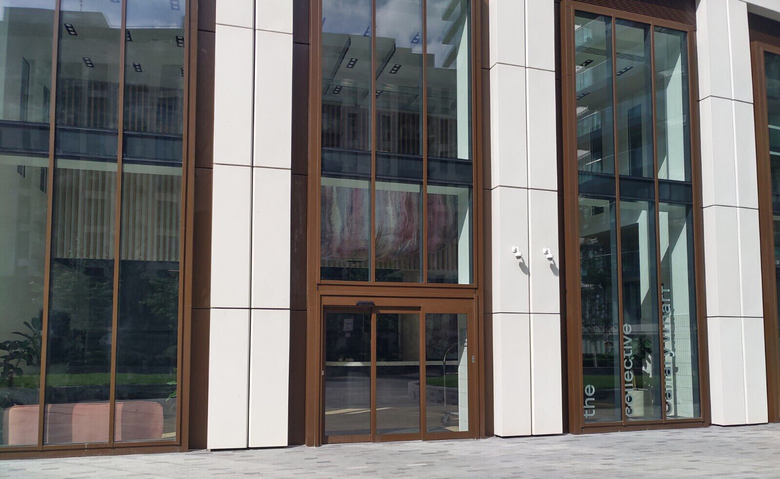 The Collective Canary Wharf Exterior Handover Day EDC Engineers