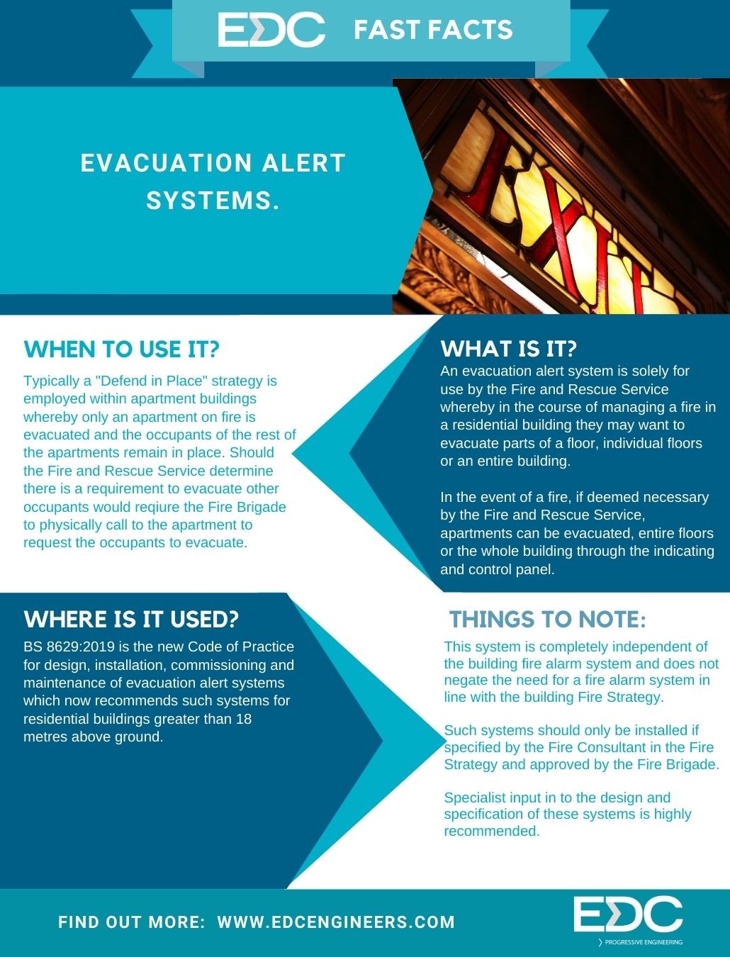 EDC Fast Facts 14 Evacuation Alert Systems