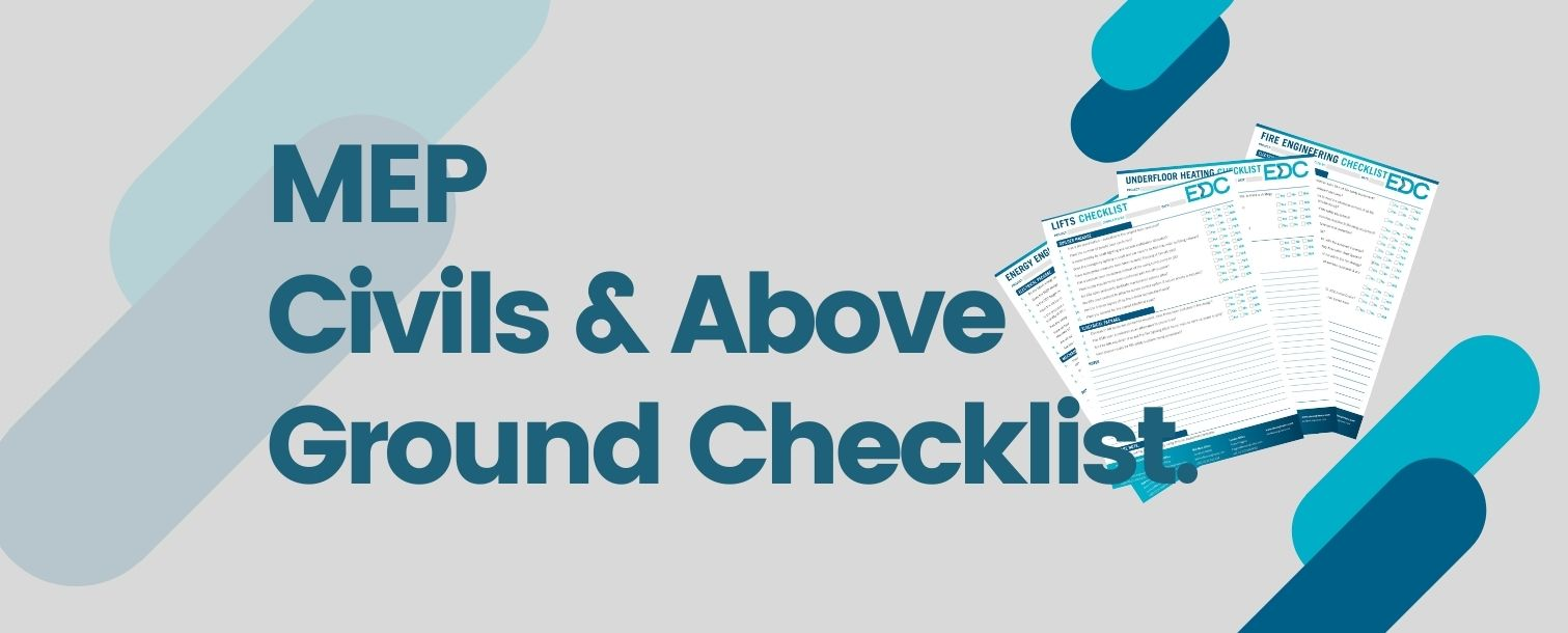 De-Risk Your Project With Our MEP Civils and Above Ground Checklist.